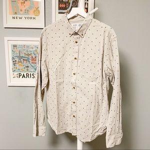Old Navy Pattern Button-Down Shirt XL